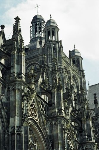 A Cathedral in the Netherlands, specifically 's-Hertogenbosch in North Brabant.  http://www.beterbrabant.nl