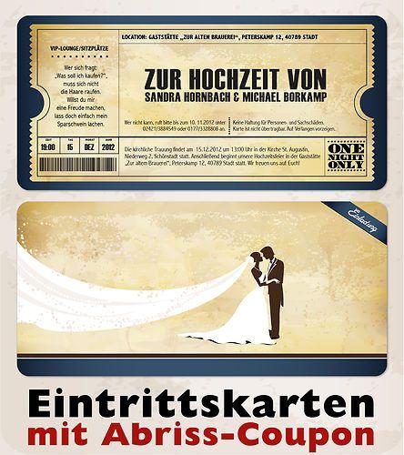 Details zu Einladungskarten zur Hochzeit im Vintage Stil