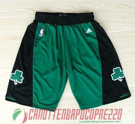 price reduced another chance fashion pantaloncini nba poco prezzo Boston Celtics verde nere in ...