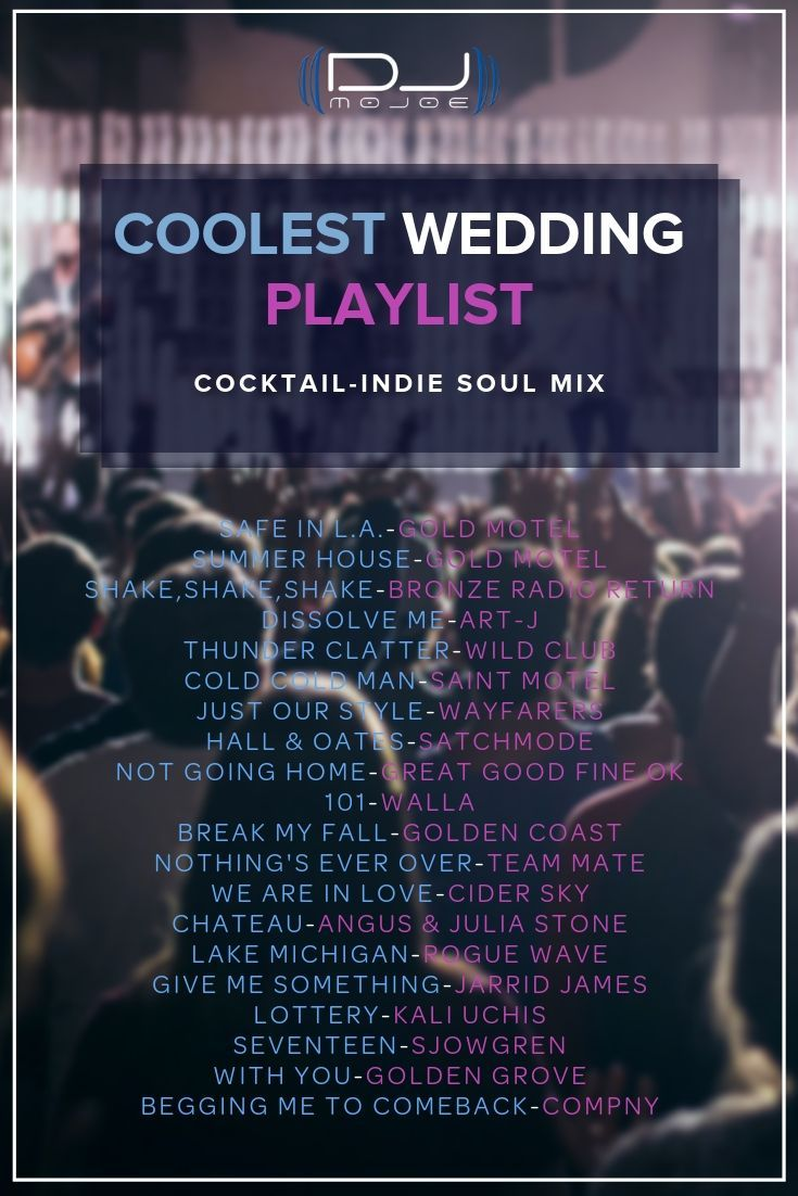 You will love these songs from the coolest wedding