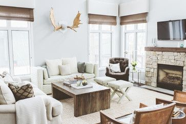 New Rustic Modern Family Room