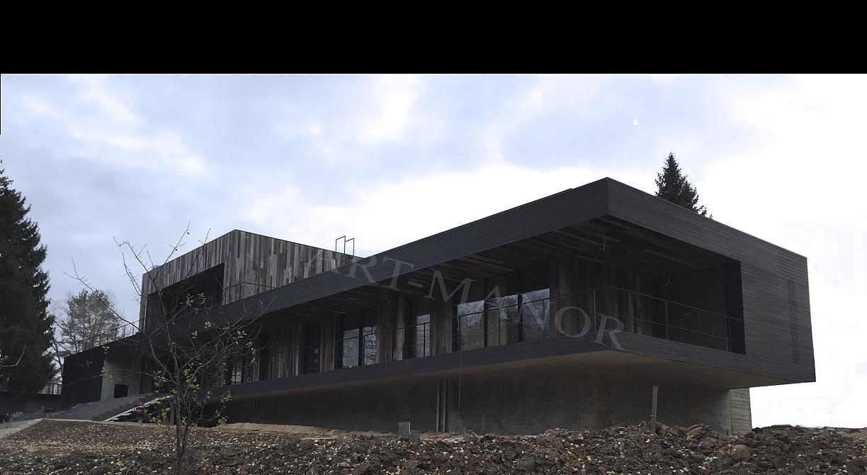 Фасады домов фибробетона исследование бетона