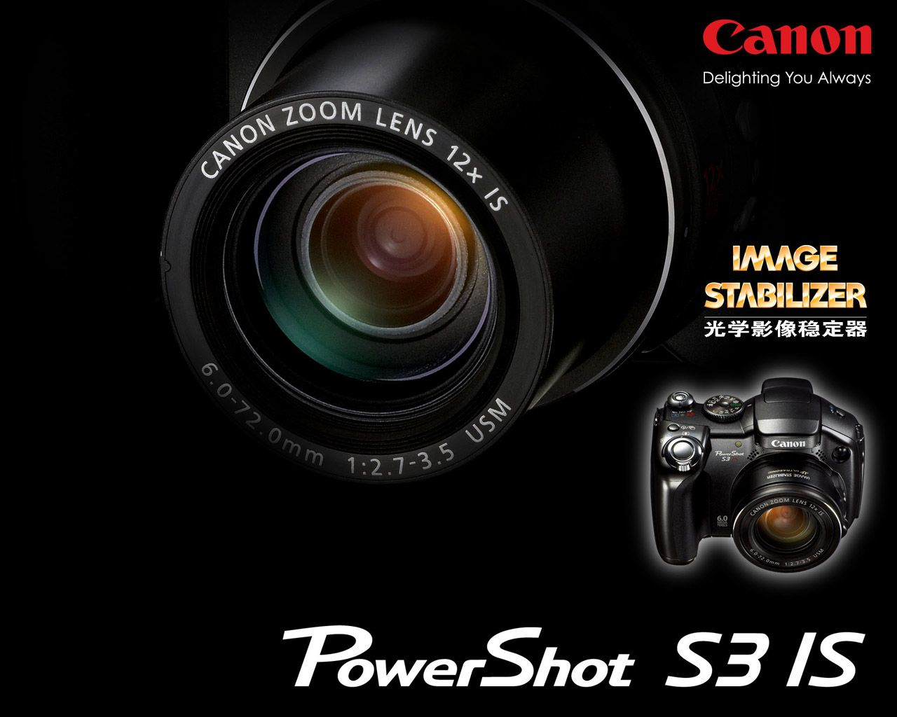 Canon Delighting You Always HD Wide Wallpaper For Widescreen Wallpapers