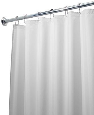 Interdesign Shower Curtain Liner Poly Extra Long 72 X 96