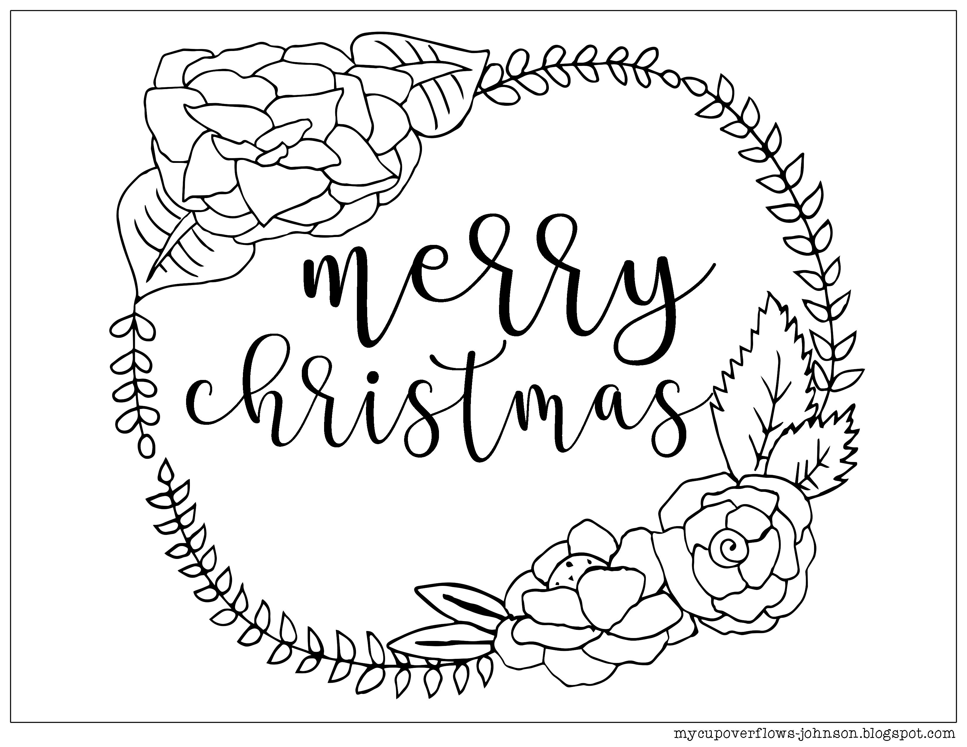 Christmas Coloring Pages Coloring Pages Mothers day