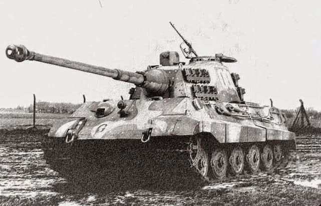 King Tiger Tank, Tiger II is the common name of a German