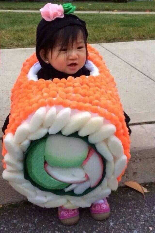 Baby #sushi costume Costumes Pinterest Sushi costume, Costumes - grown up halloween costume ideas