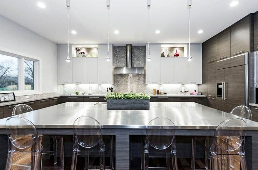Stainless Steel Kitchen Countertops (Ultimate Guide ...