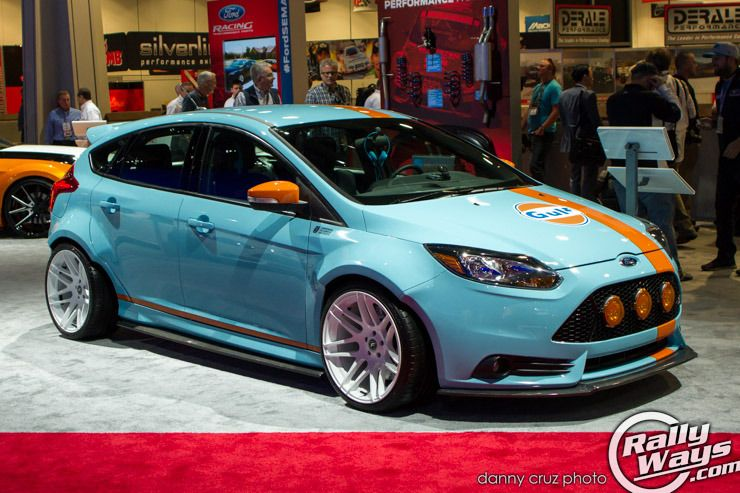 Gulf Livery Gulf 9 Cars Usa Ford Focus St Ford