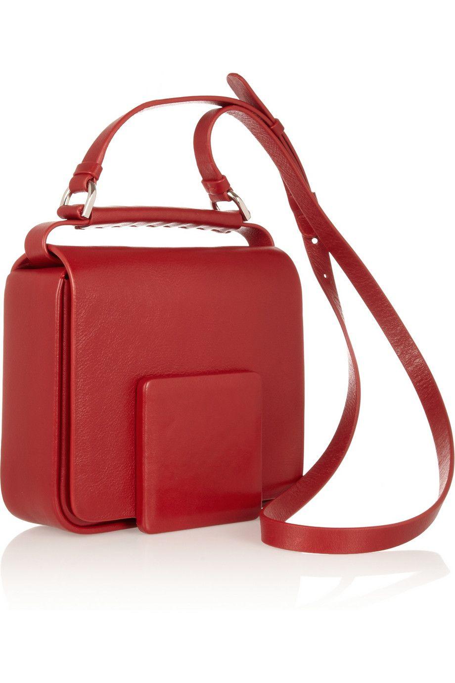5f47b20fa7d Jil Sander | Leather shoulder bag | Bags | Bags, Leather shoulder ...