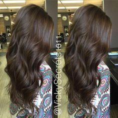 23+ Beautiful Ash Brown Hair Color Ideas #ashbrown Dark Ash Brown Hair #chocolat… – Modern