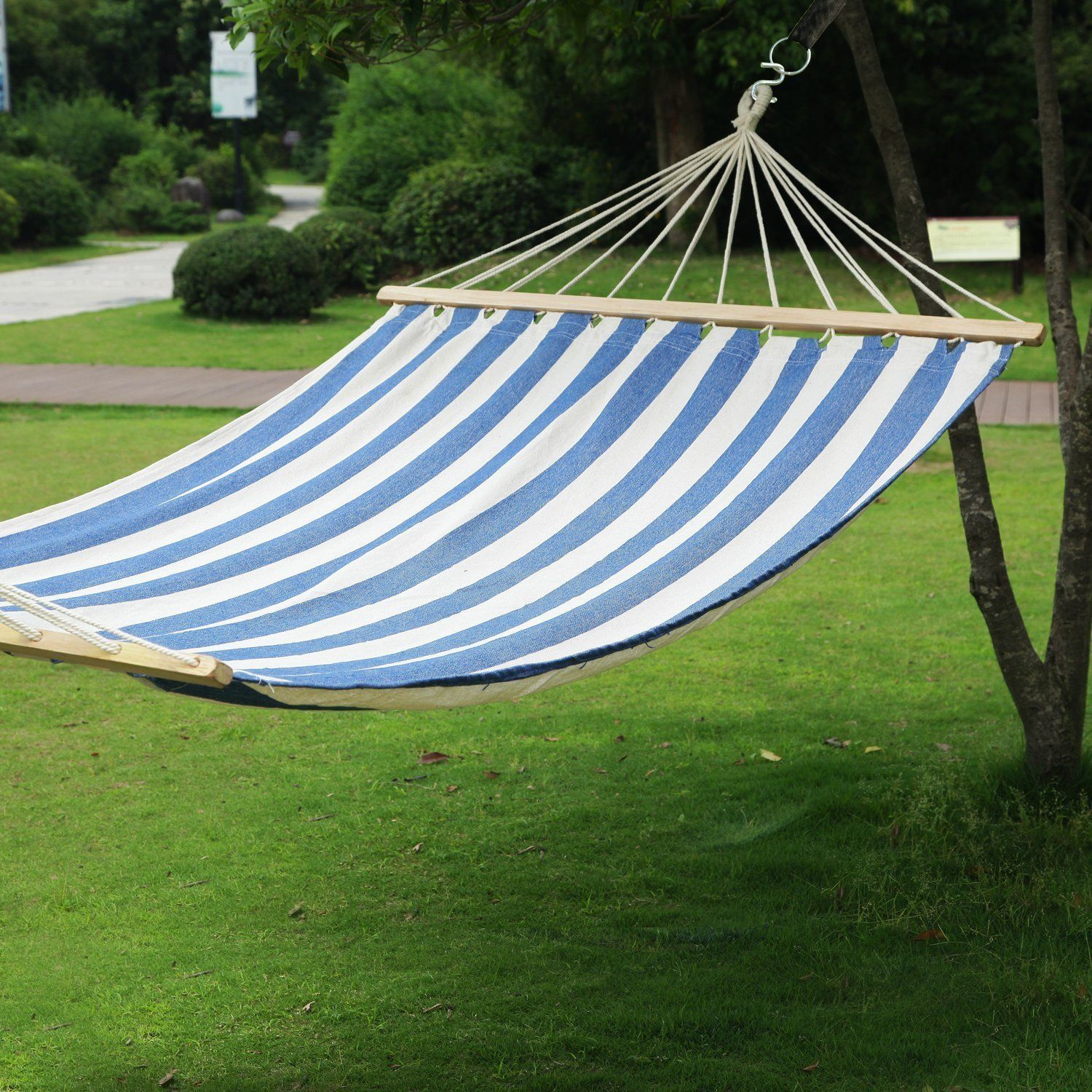this  fy colorful hammock is just what your backyard or cottage has been missing  this  fy colorful hammock is just what your backyard or cottage      rh   pinterest