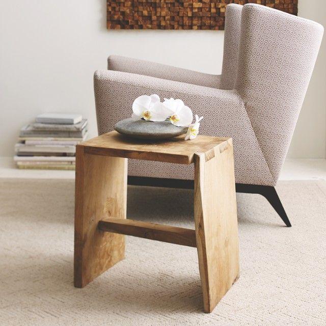 New Garden Stool Side Table