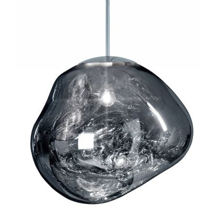 Pendant Lamp Tom Dixon Melt Mini Chrome Tom Dixon Melt Chrome Pendant Lighting Tom Dixon