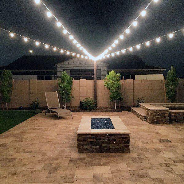 Top 40 Best Patio String Light Ideas - Outdoor Lighting Designs