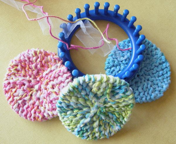 Scrubby-Os group Knifty Knitter Patterns Pinterest ...