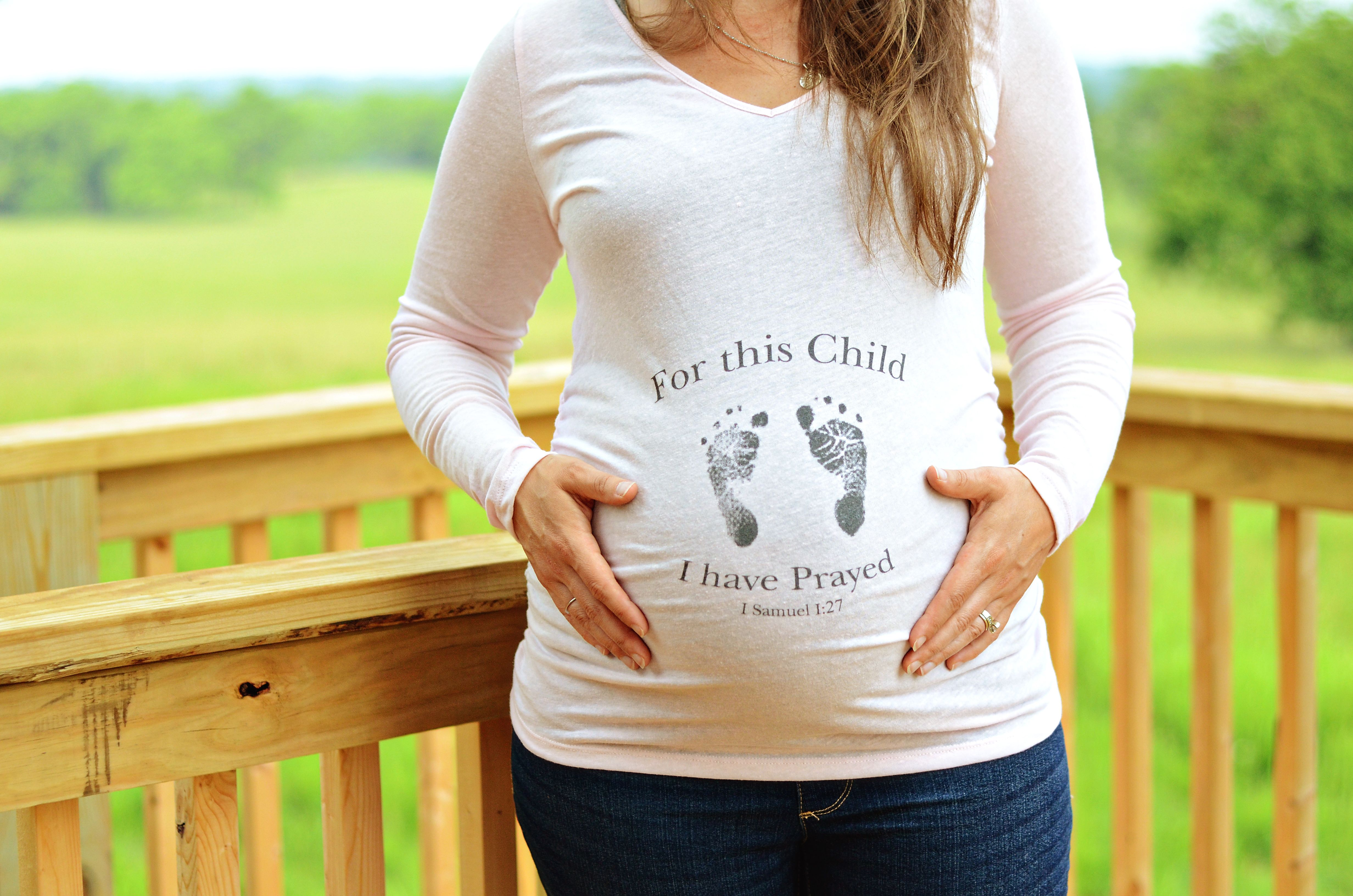 93de980aff197 Pregnant Woman Can Wear Christian Shirts Too | Products I Love ...