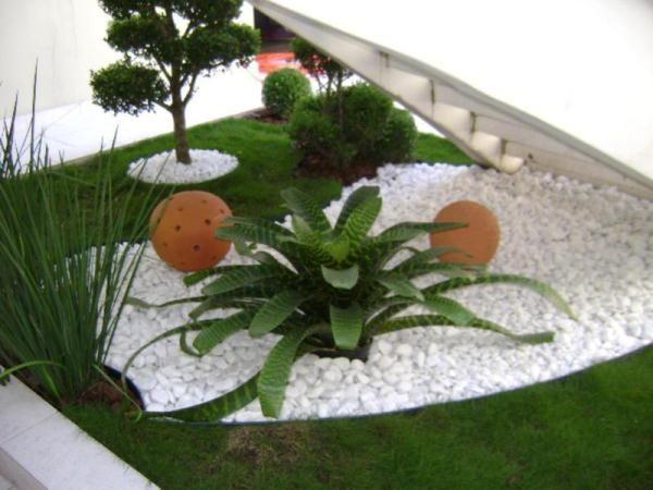 garden design ideas with pebbles - Gardens Design Ideas