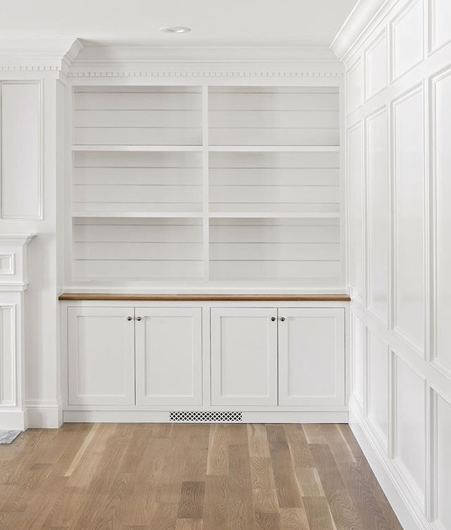 Best Of White Built In Cabinets