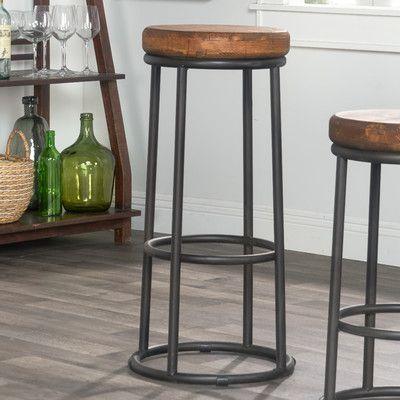 Trent Austin Design Kendall Bar Counter Stool Color Brown Seat