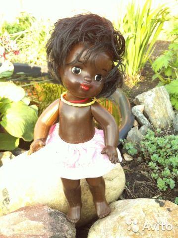 9ea22c4119bf6 Кукла СССР. Мулатка купить в Санкт-Петербурге на Avito — Объявления на сайте  Avito