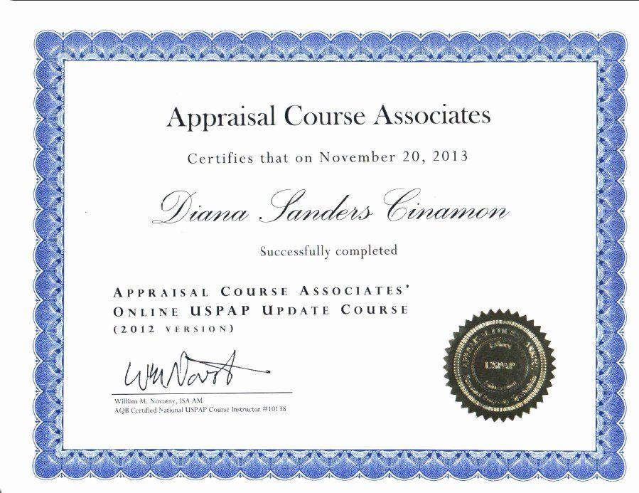 Jewelry Appraisal Certificate Template Unique Certified Appraiser Cv Certificate Templates Jewelry Appraisal Appraisal