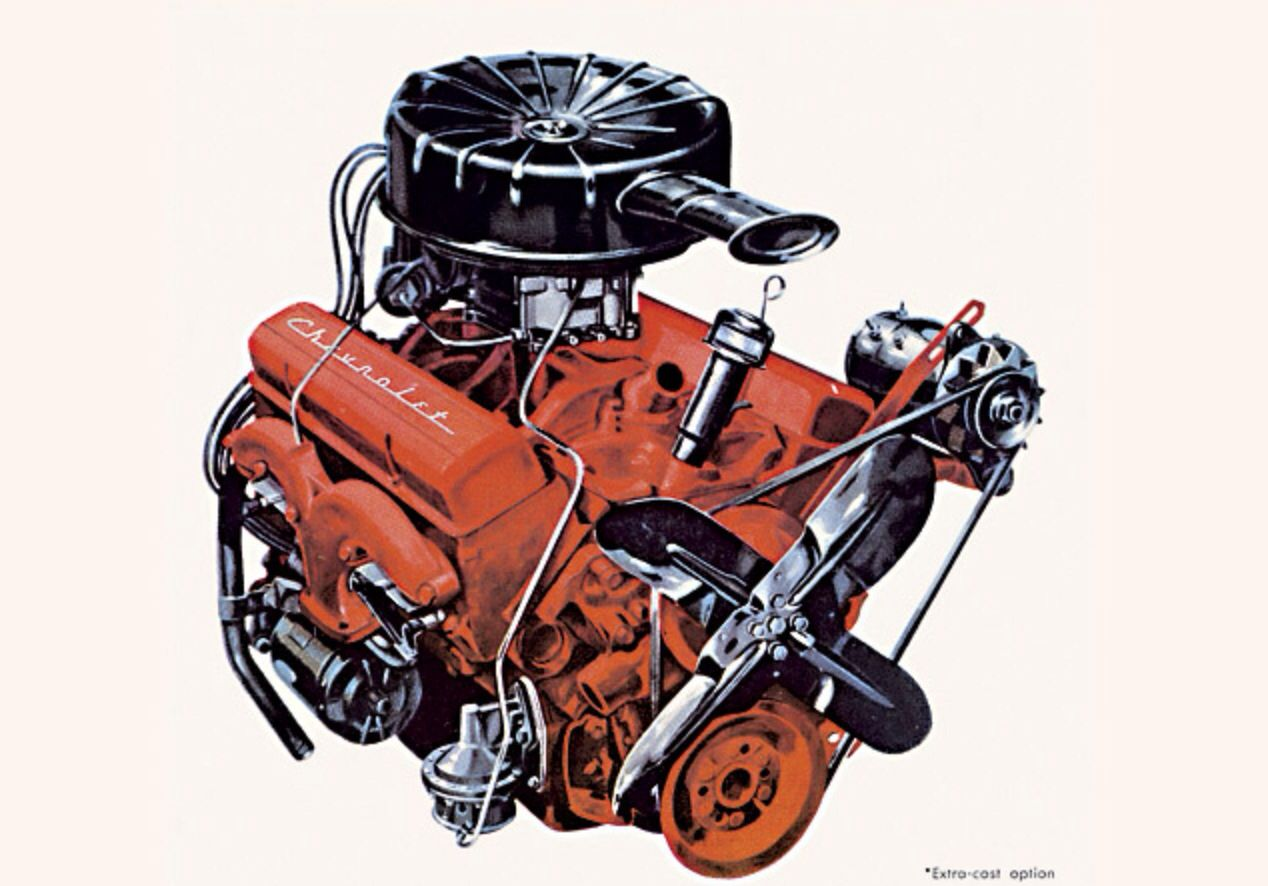 Ci trusty chevy power smooth dependable cars jpg 1268x886 283 chevy engine  information