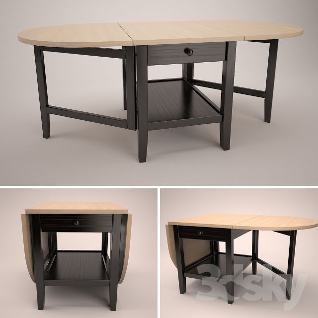 ARKELSTORP Coffee Table, Black I Like The Added Drawer