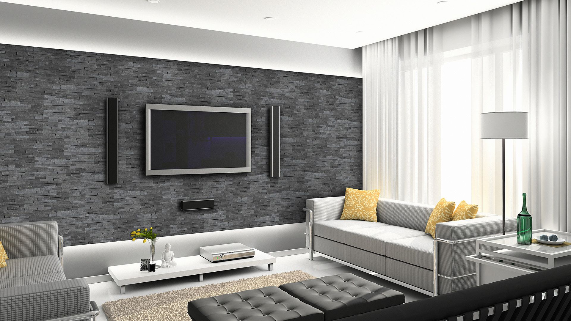 grey16.jpg (19160×16)  Minimalist living room, Fun living room