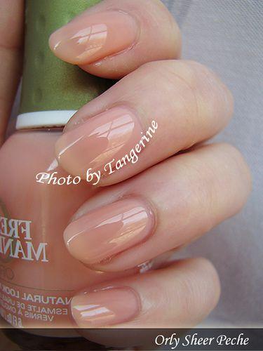 Orly Sheer Peche Soft Autumn Makeup Amp Nails Pinterest