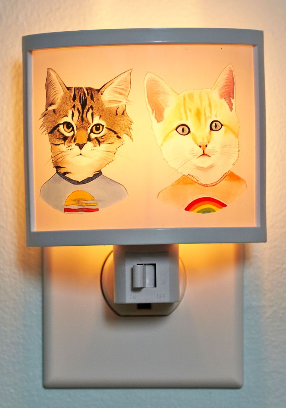 Meow You Tee Me Night Light