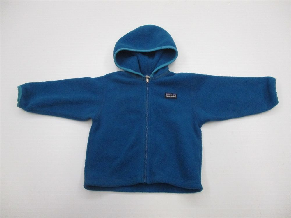 b49e4a550 PATAGONIA Jacket Baby Boy's Size 18 Months Full Zip Blue Fleece Hoodie K724  #fashion #clothing #shoes #accessories #babytoddlerclothing ...