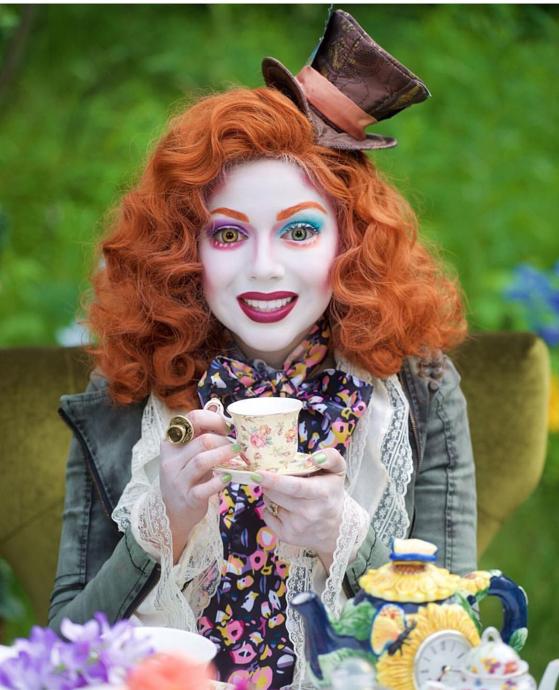 disfraces originales (3)   más de 30 ideas de maquillaje de carnaval ... bf32caa17c7