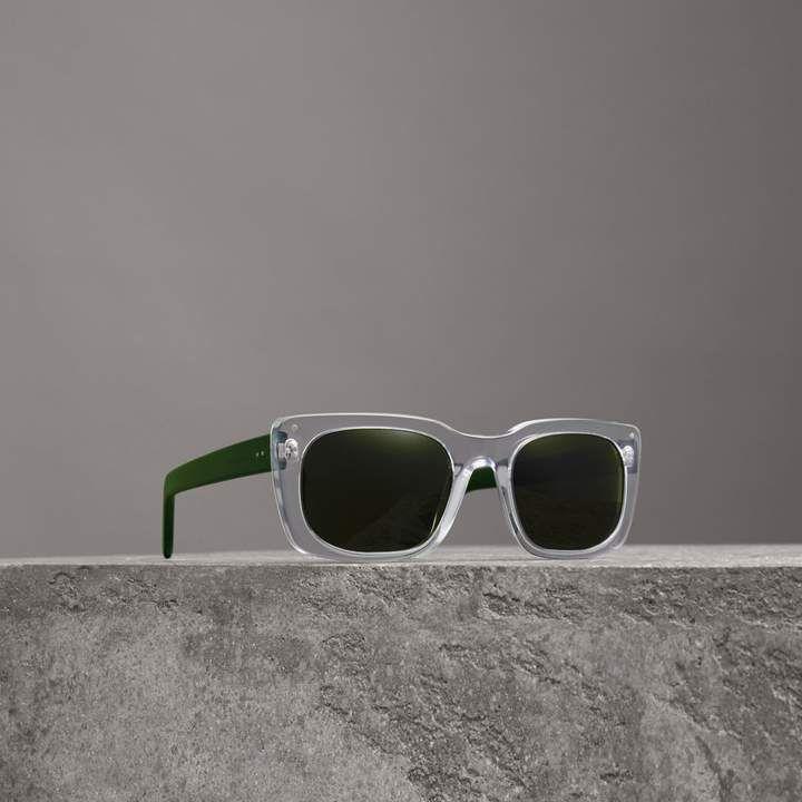 cf6080da07600 Burberry Square Frame Sunglasses