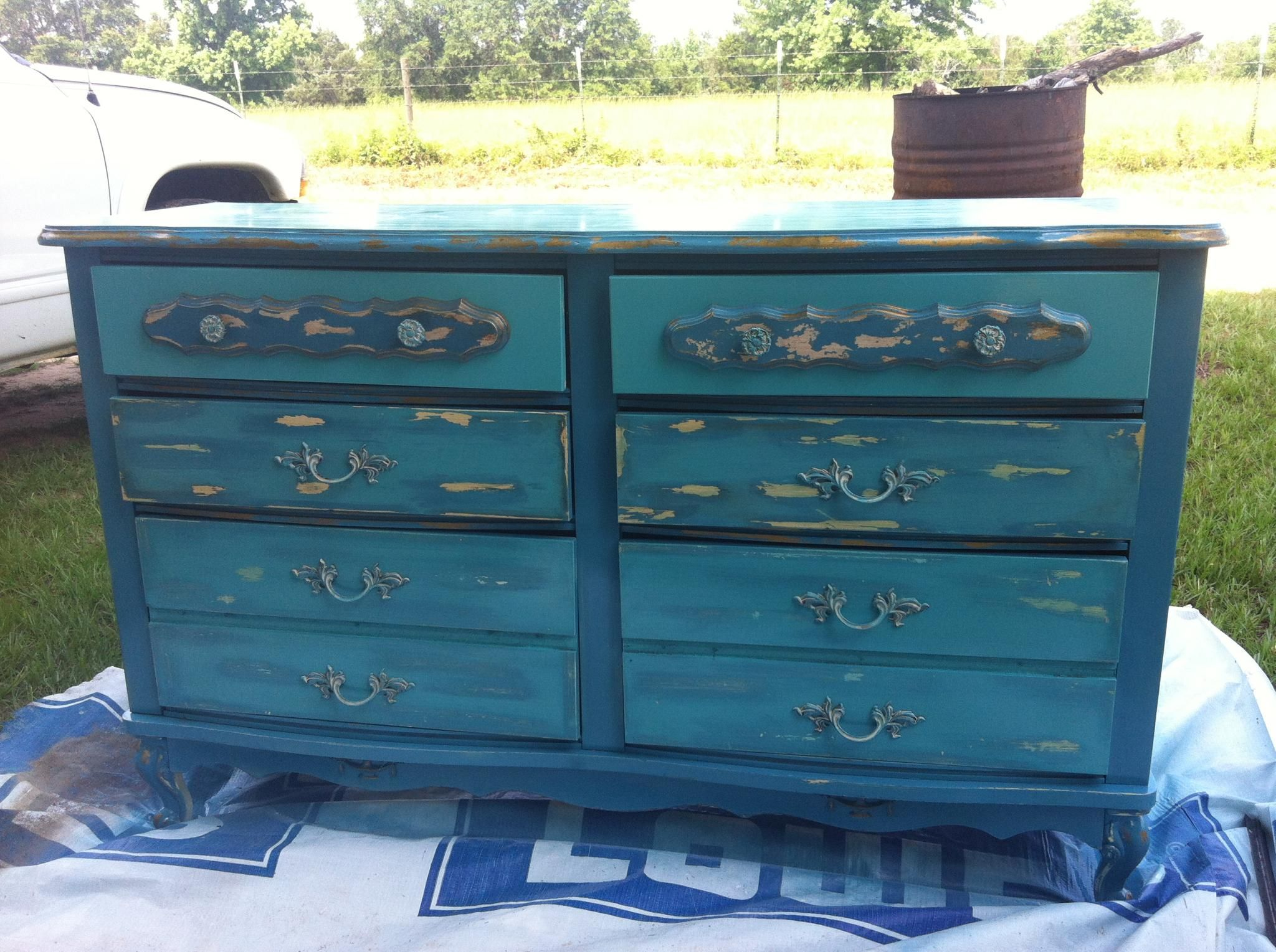 Everyone Has Or Can Find And Old French Provencal Dresser