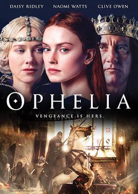 Dvd Blu Ray Ophelia 2018 Starring Daisy Ridley Clive Owen And Naomi Watts Period Drama Movies Naomi Watts Ophelia