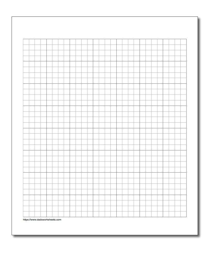 Free math worksheets for Graph Paper problems with answer key https ...