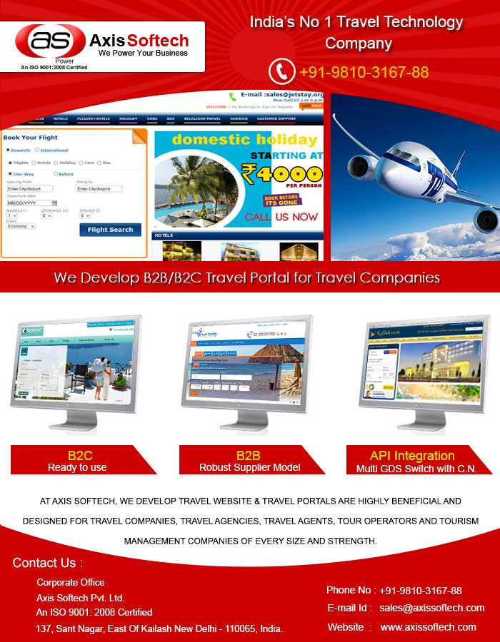 Pin by Axis Softech on Travel Portal Development | Business