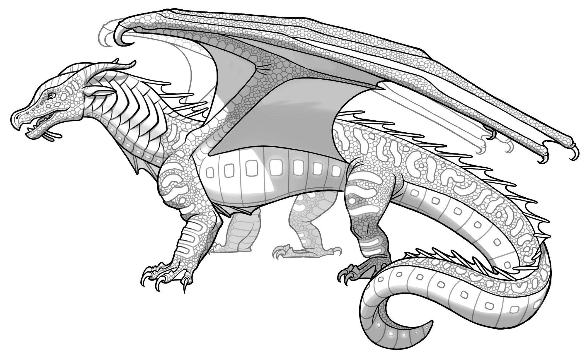 wings of fire dragons Colouring Pages | Wings of fire, Wings of fire dragons,  Fire dragon