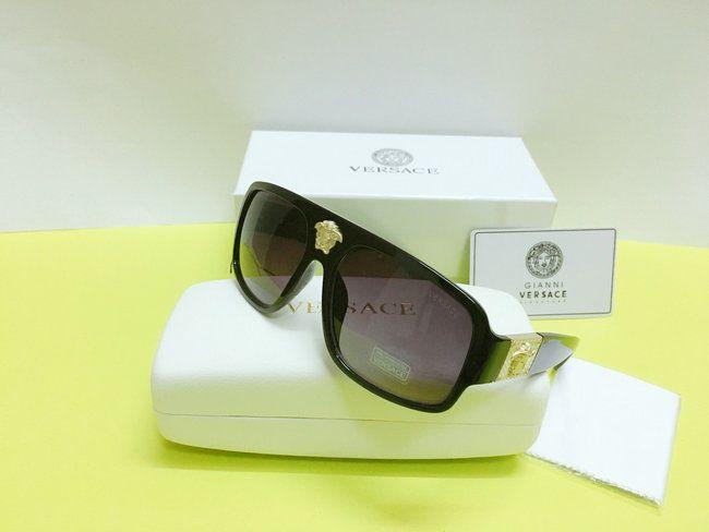 e1542095f65b Versace Sunglasses VE1574 Black-Less golden Black Men Sunglasses 57mm   fashion  clothing  shoes  accessories  mensaccessories ...