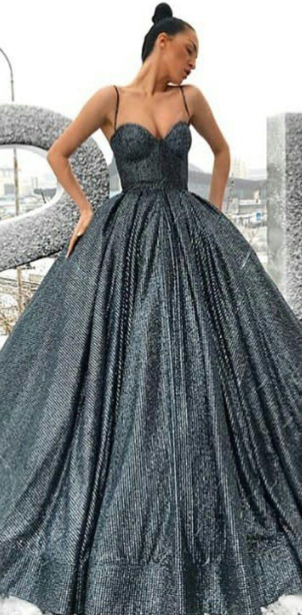 Elegant Ball Gown A Line Sparkly Gorgeous Formal Modest Uniques