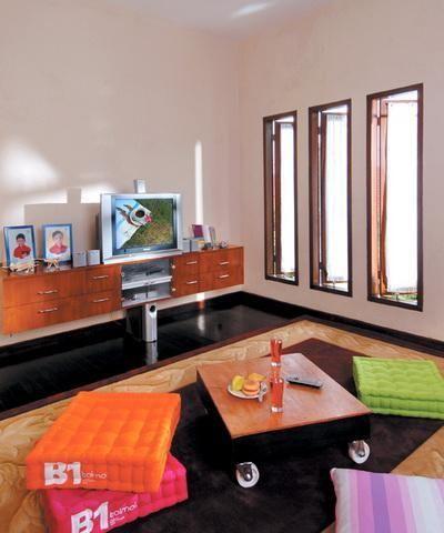 77 desain ruang keluarga minimalis (terbuka, lesehan