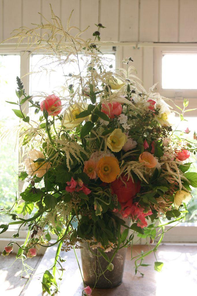 giant Temptress poppy bouquet | Poppy bouquet