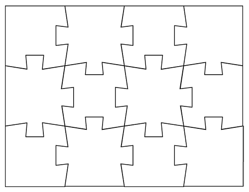 photo regarding Printable Blank Puzzle named blank puzzles in direction of print, consists of other dimensions much too, this one particular is 12
