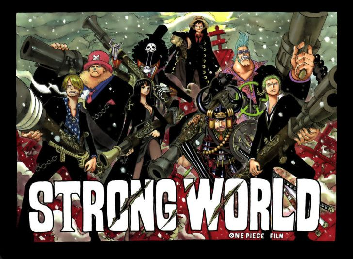One Piece Hd Wallpapers One Piece Strong World Picture Hd