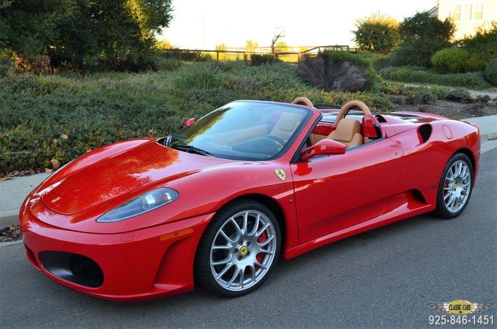 2005 Ferrari 430 California Car 5 558 Miles 6 Speed 3 Pedal Ferrari Ferrari F430 Super Cars