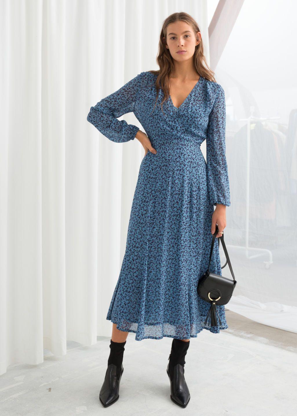 Product Midi Dress Winter Midi Dress Fall Midi Dress [ 1435 x 1025 Pixel ]