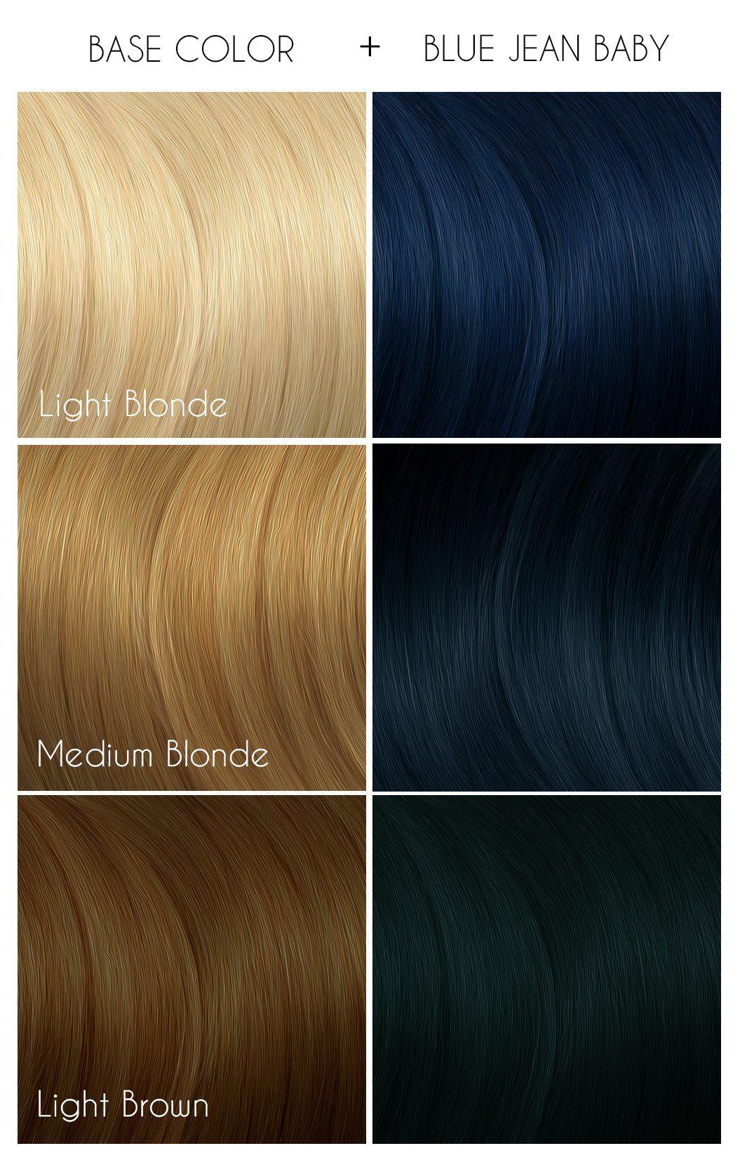 Blue Jean Baby Arctic Fox Hair Dye Arctic Fox Hair Color