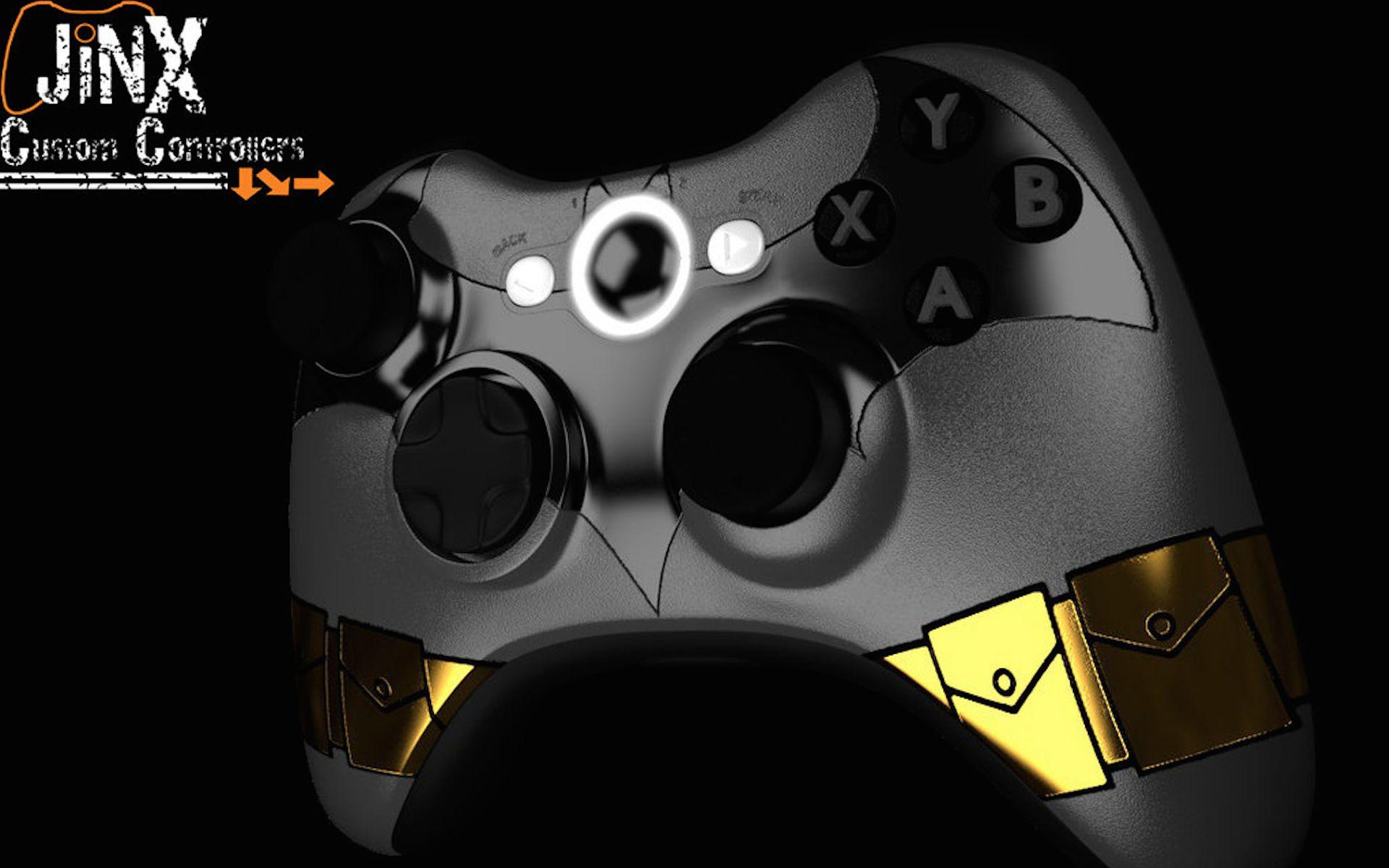 Batman Custom Xbox Controller 3d Game Wallpaper Custom Xbox Xbox Controller Xbox