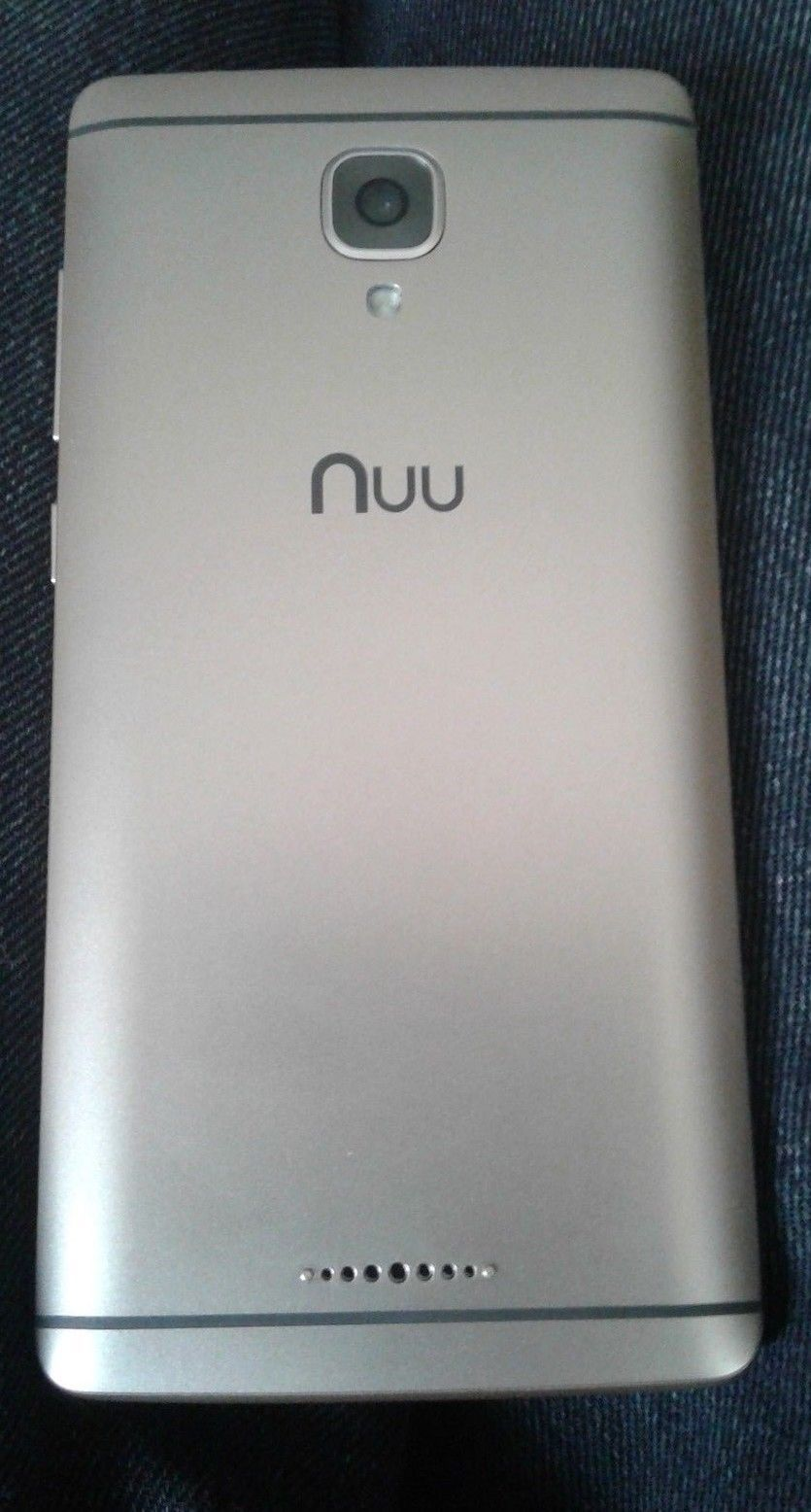 44 35 | Unlocked GSM T-Mobile NUU A3 4G Cell Phone - Gold